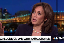 Harris: Trump in the business of intimidating the vulnerable