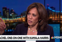 Harris: Trump throws flames to distract from disastrous policies