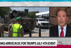 Udall vows to get answers on taxpayer cost of Trump July 4 stunt