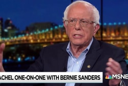 Sanders pushes back on ageism: Look at the totality of the person