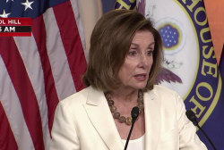 'He'll try all kinds of things,' says Speaker Pelosi about President Trump's census fight