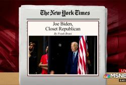 Is institutionalist Biden looking to Bush's 2000 campaign?