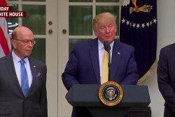 Barr 'cringeworthy' as he praises Trump on census caving