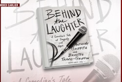 Comedian tells tale of tragedy and hope in new book