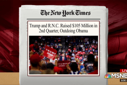 Trump campaign, RNC raise $105M in second quarter