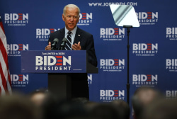 Biden outlines foreign policy goals to counter Trump