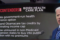 Biden releases health care plan that builds upon Obamacare