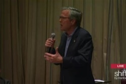 Jeb holds energy town hall