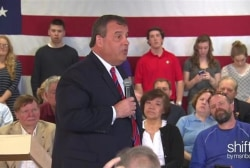 Chris Christie holds town hall in NH