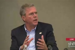 Jeb holds NH roundtable