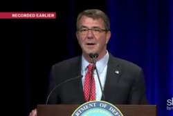 Sec of Def Carter appears at DOD LGBT Event