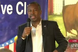 Ben Carson at Iowa breakfast