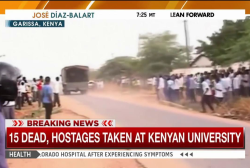 Gunmen storm Kenyan school, target Christians