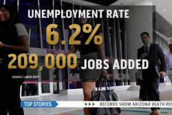 209,000 jobs added and unemployment rises
