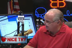 Limbaugh suggests the left politicizes Ebola
