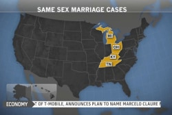 Four states to hear same-sex marriage cases