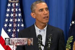 Did Obama's response to Ferguson fall short?