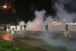 Tensions in Ferguson after release of video