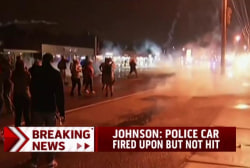 7 protesters arrested overnight in Ferguson