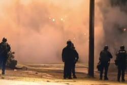 Ferguson curfew ends in seven arrests