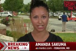 Sakuma: Ferguson residents need to grieve