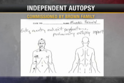 Michael Brown autopsy shows multiple shots