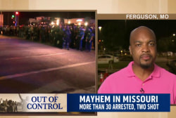 Who are the violent Ferguson protesters?