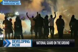 Despite National Guard presence, chaos ensues