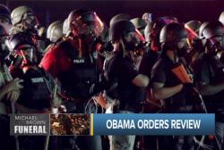 New civil rights push: Demilitarizing police