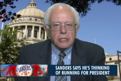 Bernie Sanders weighing 2016 run