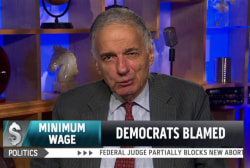 Nader: Dems are 'doomed' without wage issue