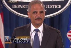 DOJ launches investigation of Ferguson police