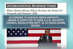 Obama to seek UN help to crack down on ISIS