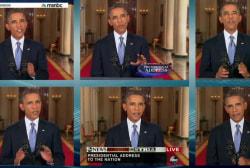 The history of President Obama in primetime