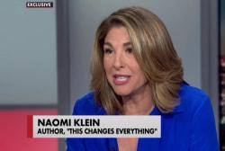 Naomi Klein: Move left through climate fight