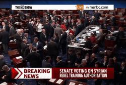 Senate votes on arming Syrian rebels