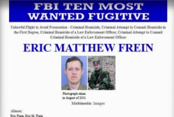 PA barracks shooter now FBI most wanted