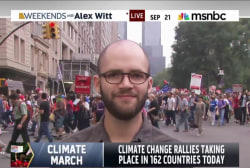 Largest climate change rally takes over NYC
