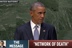 Obama hits wide range of topics at UN address