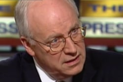 Why does anyone still listen to Cheney?