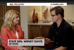 Chris Hayes exclusive with Wendy Davis
