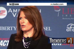 Bachmann calls for war on Islam