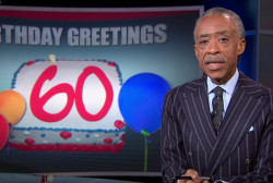 Rev. Al Sharpton turns 60
