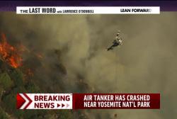 Air tanker crashes near Yosemite National...