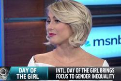 Julianne Hough talks girls education