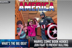 Comic book heroes join fight against bullying