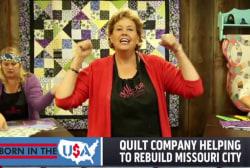 Quilt company revitalizes Missouri city