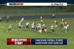 Football hazing scandal rocks NJ town