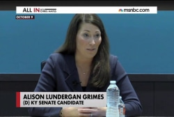 Grimes and McConnell face off in KY debate