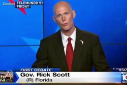 Rick Scott's 'Shady State' politics